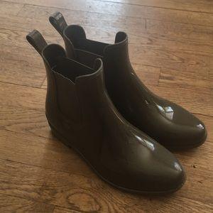 Ralph Lauren Army Green Rain Boots